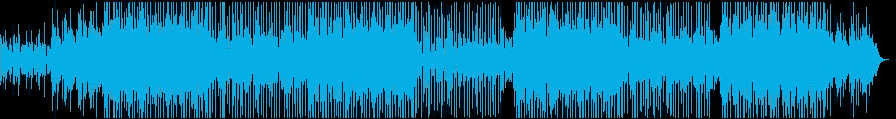 技術的なサウンドのシンセパターン、...の再生済みの波形