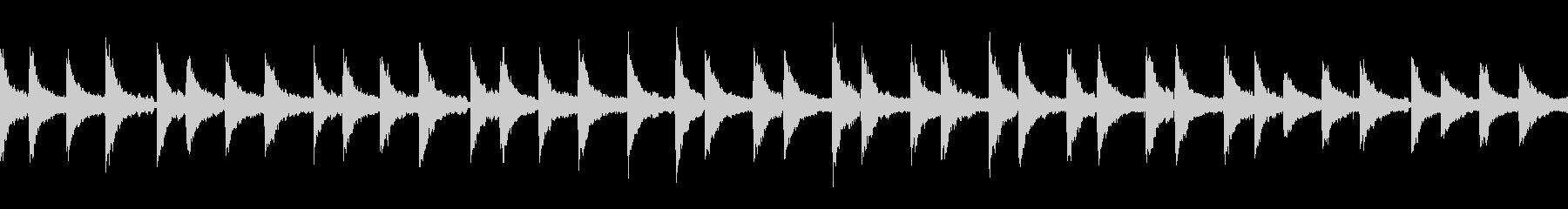 piano loop ピアノループ の未再生の波形