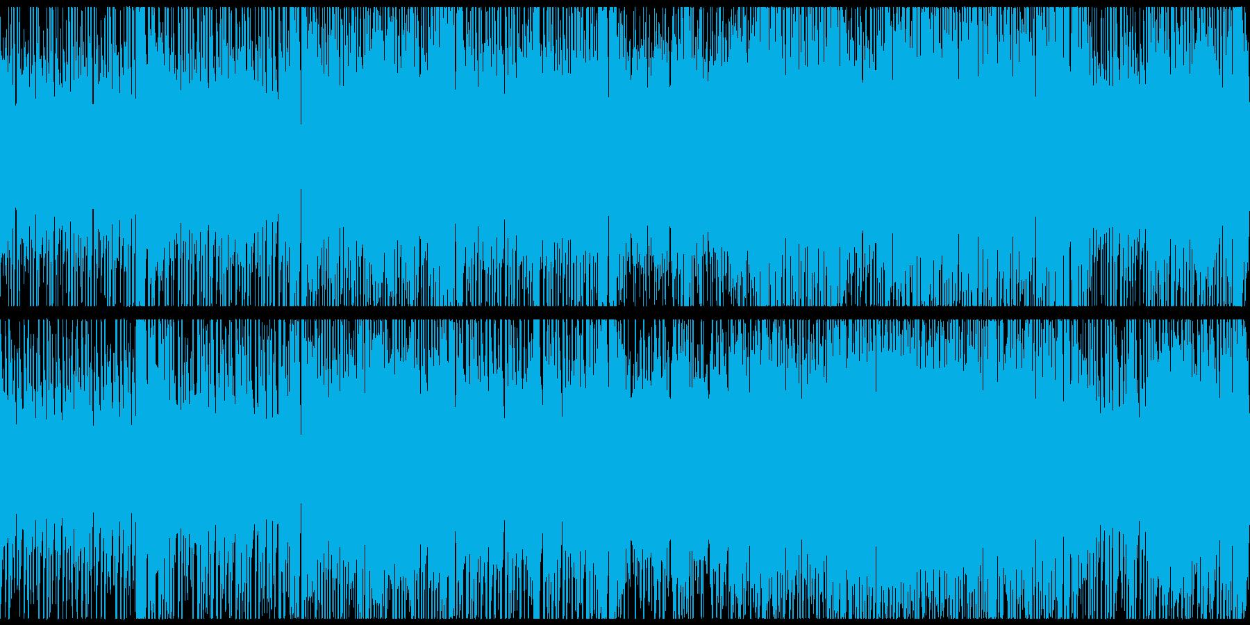 楽しくアスレチックで遊ぶ・探検するBGMの再生済みの波形