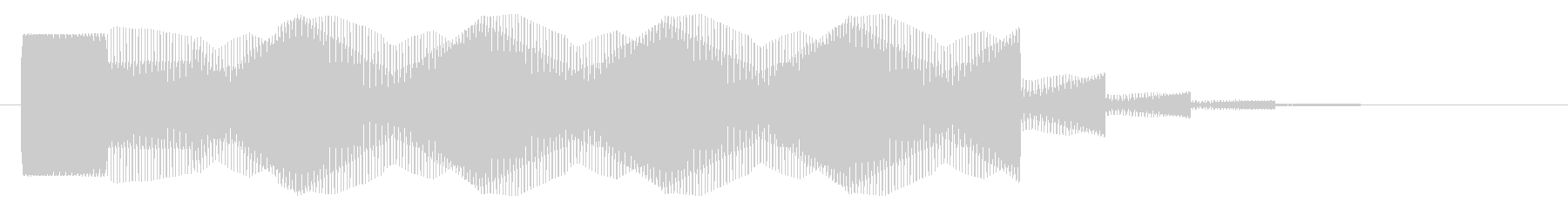 ブォーン【SF・UFO・反重力装置】の未再生の波形
