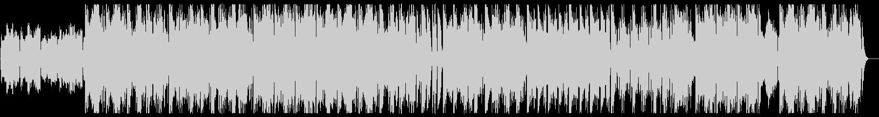 緩やかでメローなクラシカルワルツ風BGMの未再生の波形