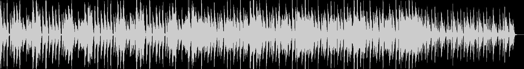 ヒップホップテイストなリズムに合わせて…の未再生の波形