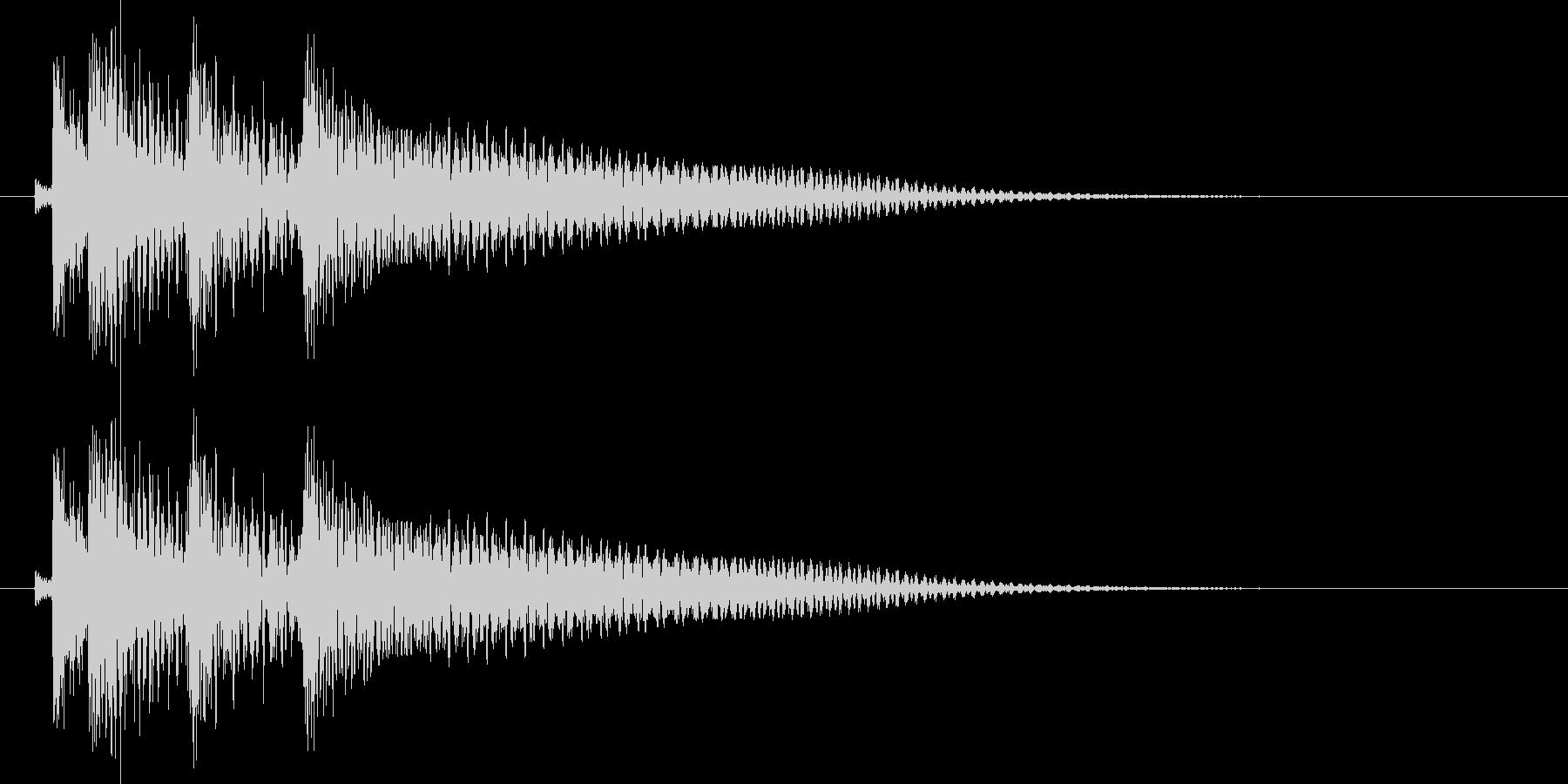 沖縄風エラー音1の未再生の波形