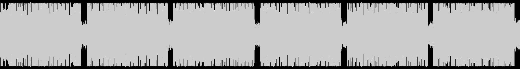 ゲーム映画バトル用攻撃的1-1ループ処理の未再生の波形