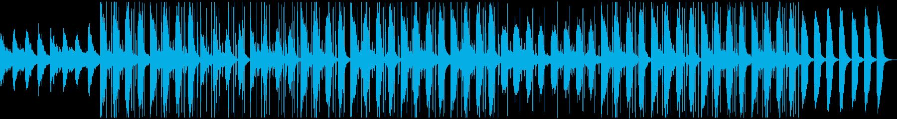 ノスタルジック おしゃれ トラップソウルの再生済みの波形