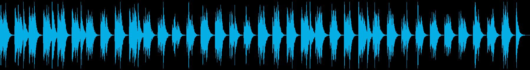 ピッチカートのこっそり曲の再生済みの波形