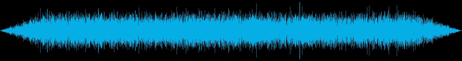 ゴー(宇宙船内環境音)の再生済みの波形