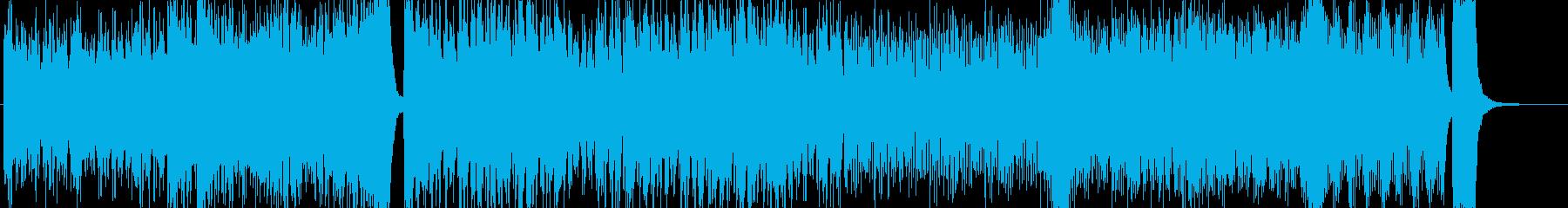 B)WAVE 16bit 44.1khzの再生済みの波形