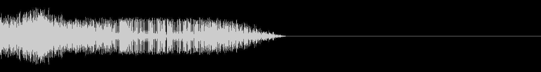 シャッ(スライディング/滑る/ひっかく)の未再生の波形