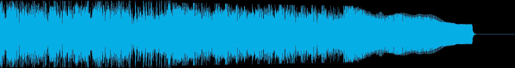 カントリー風ギターイントロ−06Fの再生済みの波形