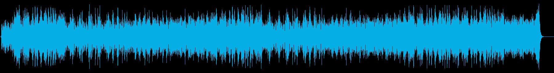 繊細なエンディング向けシリアス・ポップスの再生済みの波形