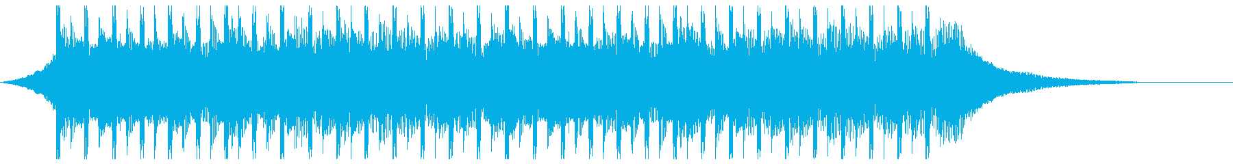 広告音楽(ショート2)の再生済みの波形