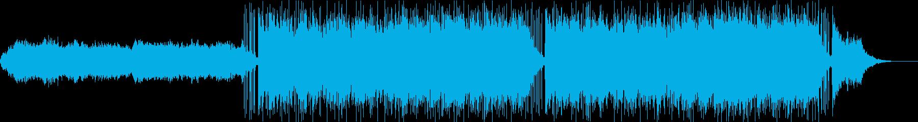 神秘的でアンデス系のダンスWAVの再生済みの波形