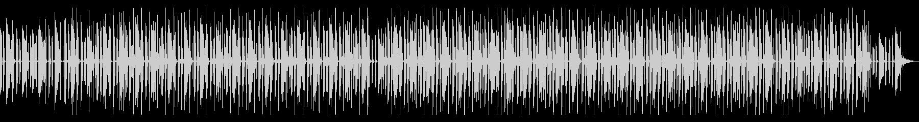 淡々と程よいノリのBGM タイムラプス等の未再生の波形
