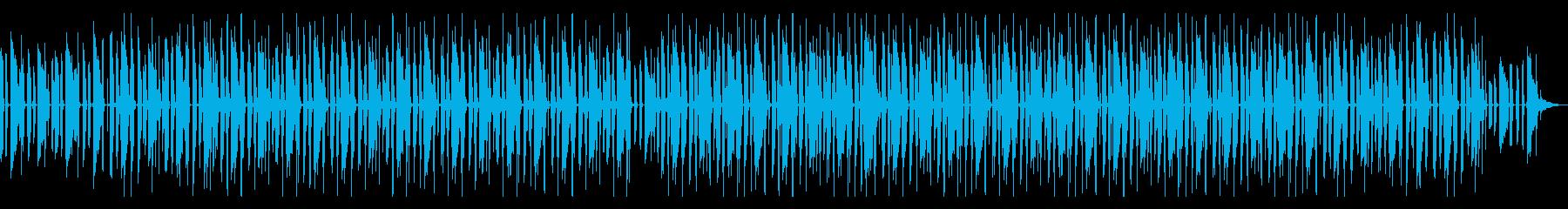 淡々と程よいノリのBGM タイムラプス等の再生済みの波形