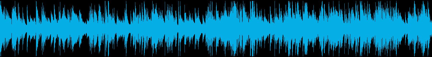 めちゃ渋い紳士的ジャズバラード※ループ版の再生済みの波形