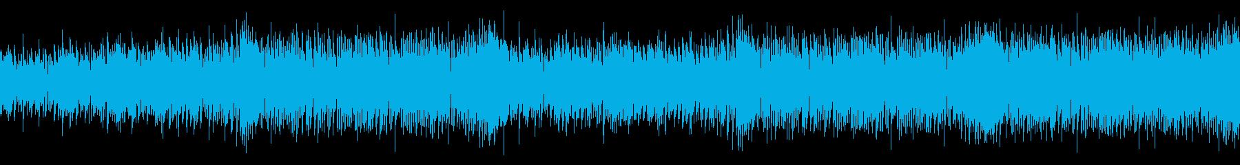 爽やかな夏のオープニングに生演奏ウクレレの再生済みの波形