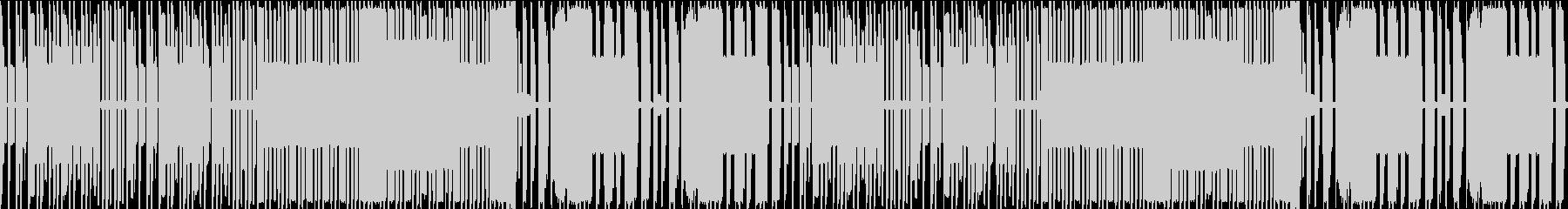 FC風ループ オートドライバーの未再生の波形