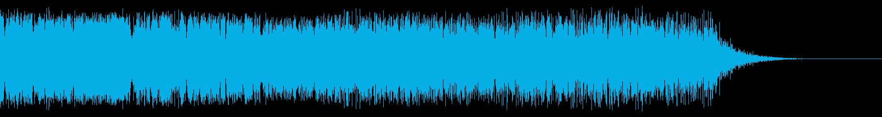 ロングハーシュザップの再生済みの波形
