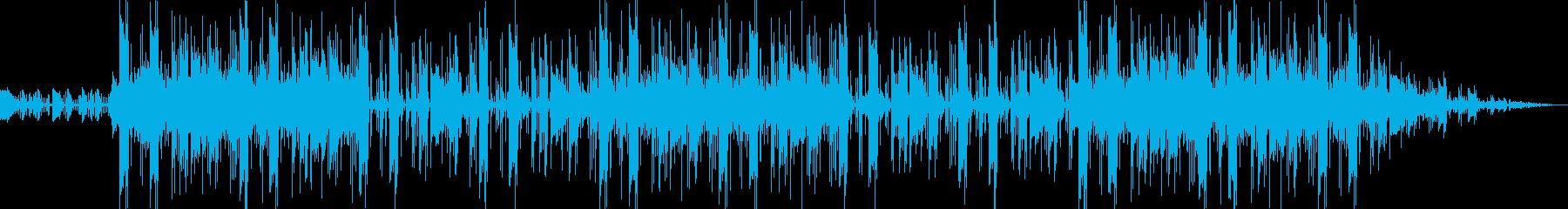 サンバ&デジタルビートのソウルグルーヴの再生済みの波形