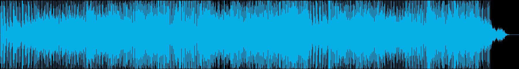 エモーショナル系エレクトロニカ、力強い音の再生済みの波形