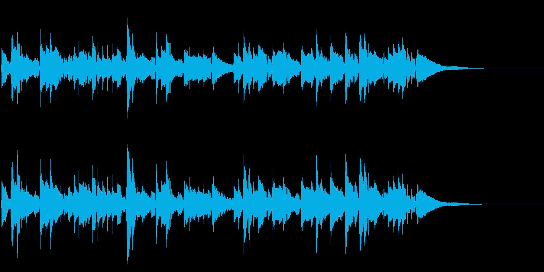 アコギ24/哀愁、生音の再生済みの波形