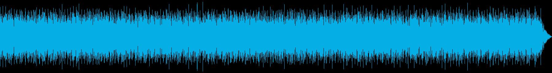 中国 をイメージしたBGMの再生済みの波形