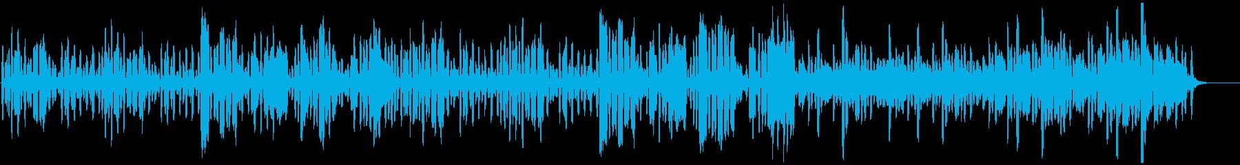 リコーダーの元気で可愛い曲3の再生済みの波形