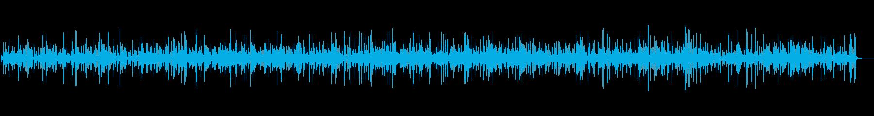 ゆったり癒しのカフェジャズBGMの再生済みの波形
