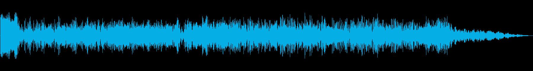 大規模攻撃の再生済みの波形