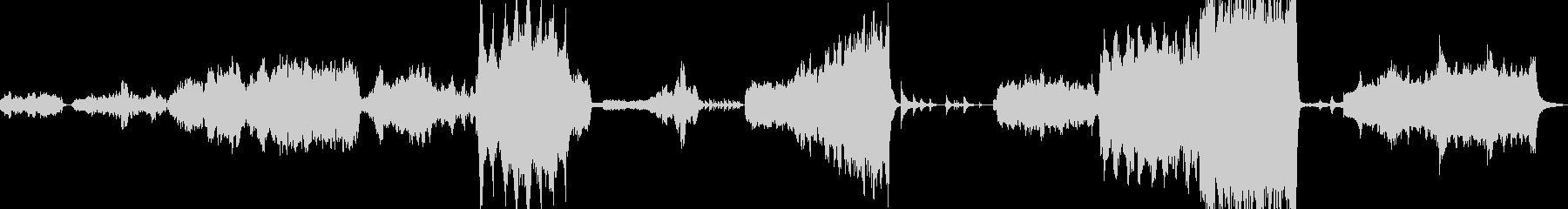 感動シーンに使われる壮大なオーケストラの未再生の波形