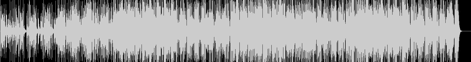ラテンパーカッション炸裂!マンボとソンゴの未再生の波形