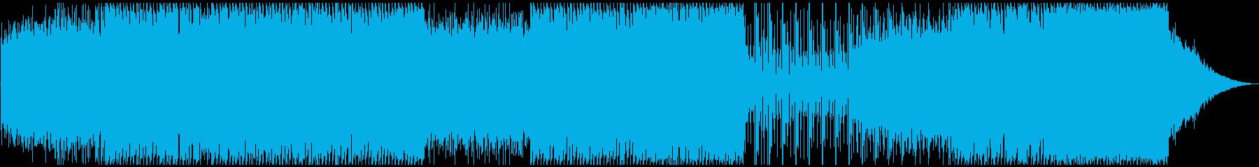 不吉な謎の全貌を解き明かす時のテーマの再生済みの波形