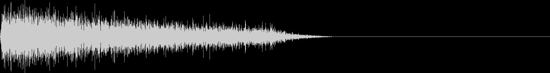 FX・SEピアノ/ショック/衝撃/2-Aの未再生の波形