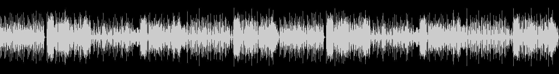 ピアノ・フルートで奏でるヒーリングBGMの未再生の波形