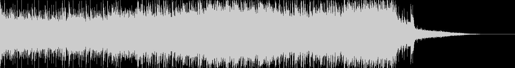 短めで暗めなドラムンベースの未再生の波形