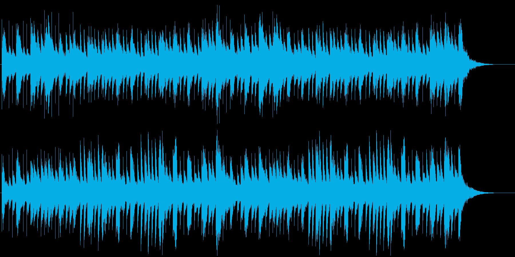 パッヘルベルの「カノン」の再生済みの波形