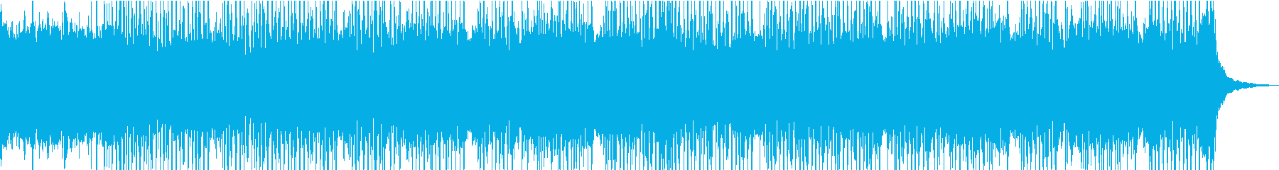 ピアノとシンセサイザーが爽やかなBGMの再生済みの波形