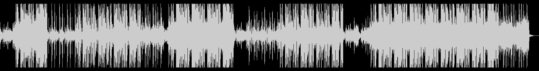 感動的ピアノ・ヒップホップの未再生の波形