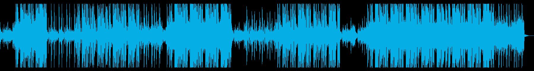 感動的ピアノ・ヒップホップの再生済みの波形