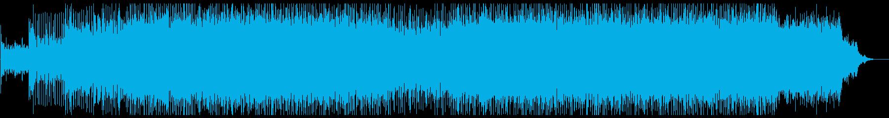 躍動感あふれる軽快なポップスです。の再生済みの波形