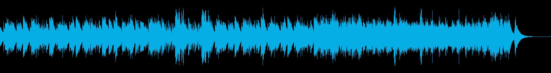 和風でホラーチックな祭りのBGMの再生済みの波形