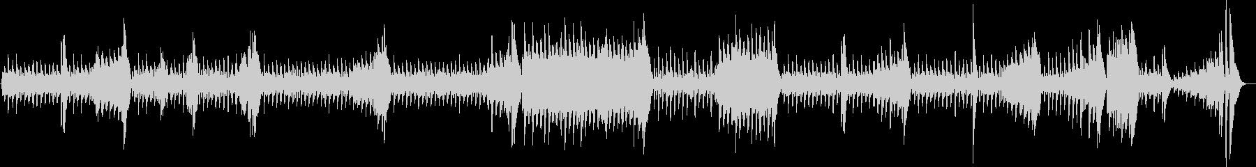 ウキウキわんこの、かわいいお散歩ピアノ曲の未再生の波形