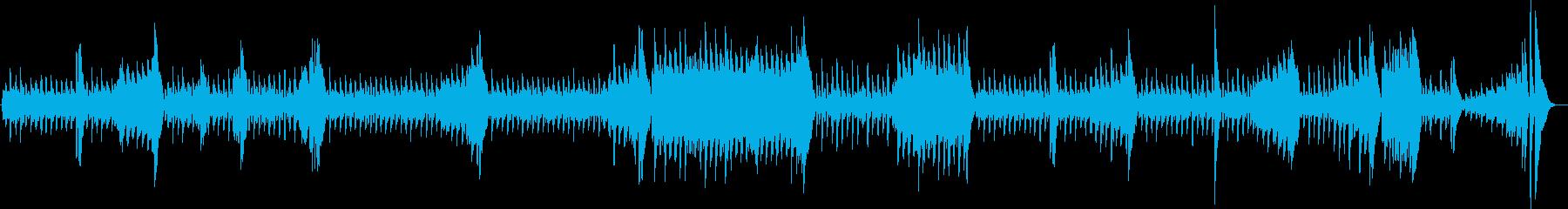 ウキウキわんこの、かわいいお散歩ピアノ曲の再生済みの波形