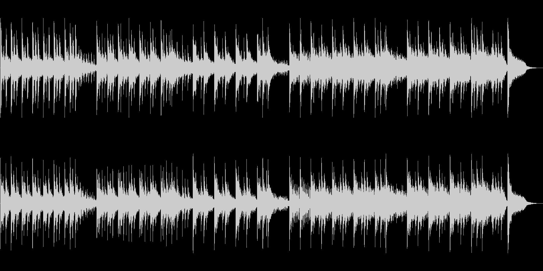 神秘と幻想を演出するセンチメンタルな音楽の未再生の波形