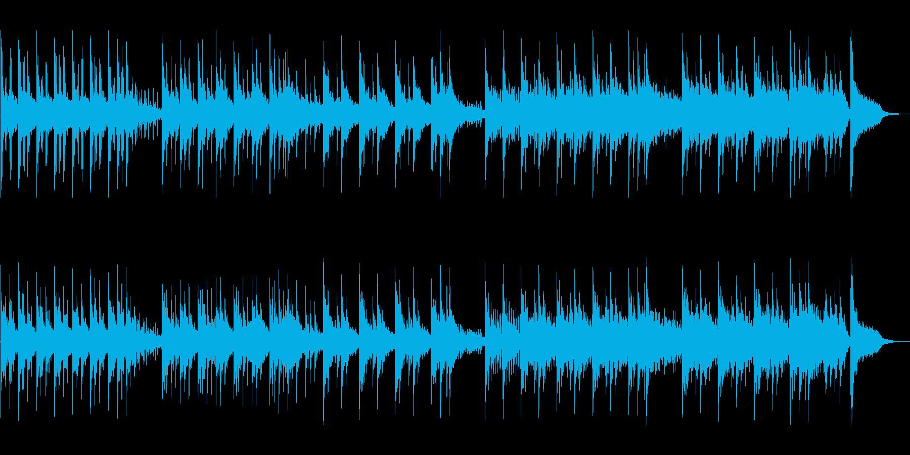 神秘と幻想を演出するセンチメンタルな音楽の再生済みの波形