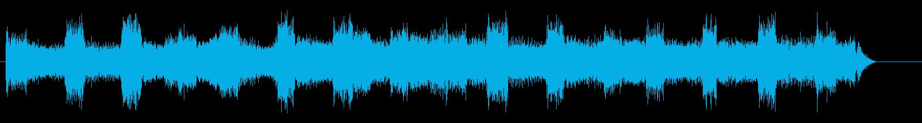 絶望、失望的な未来、動揺する暗い音 4の再生済みの波形