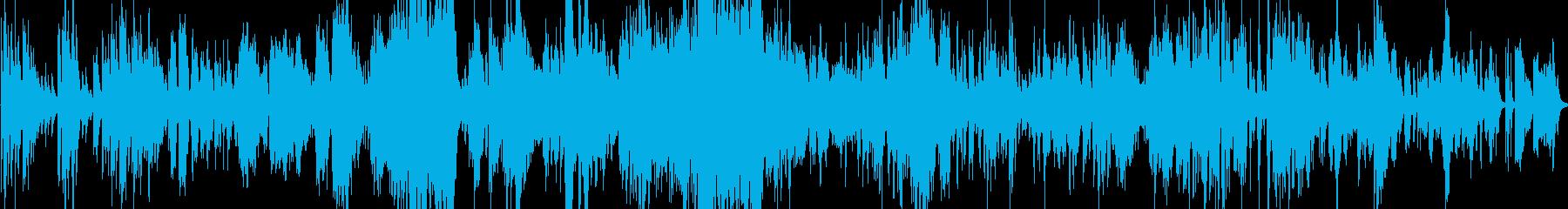 洗練されたアンダートーンで刺激的で...の再生済みの波形