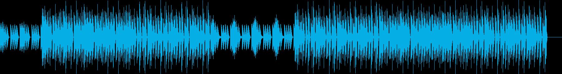 おしゃれ・低音重視・EDM・ベース16の再生済みの波形