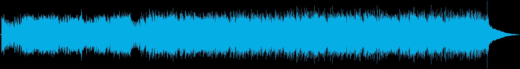 オープニング・哀愁感漂うフラメンコの再生済みの波形